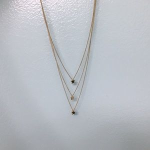 🌟Layered F21 Gold Star Necklace🌟